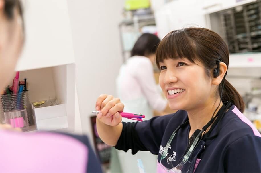 歯科衛生士勤務風景